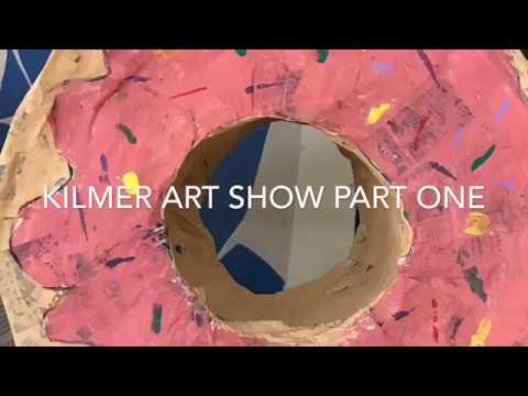 2019 Kilmer Elementary School Art Show -  part one