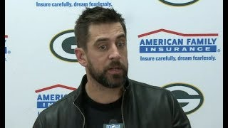 Aaron Rodgers post game interview   Packers close out 31-24 win over Chiefs