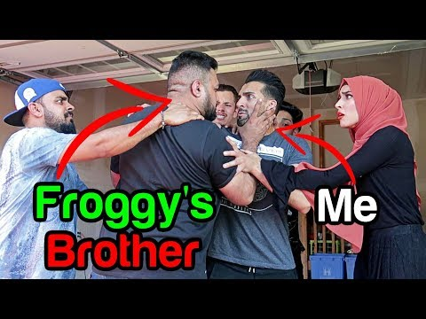 FROGGYS BROTHER CAME TO MY HOUSE
