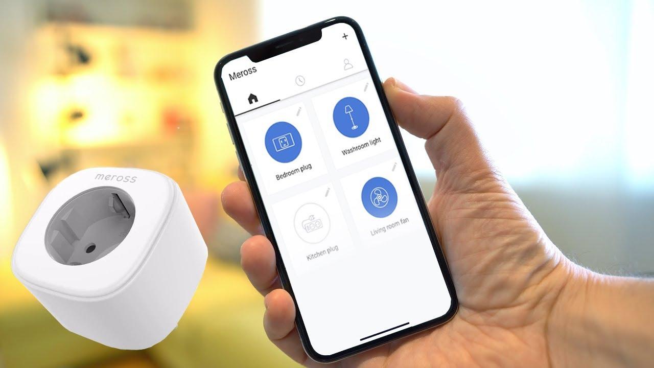 UNA PRESA DAVVERO GENIALE!! - Meross MSS110 Wi-Fi Smart Plug