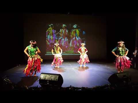 Tuvalu Student Performance at the 2017 Fu Jen University Christmas Party