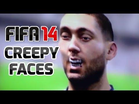 Creepy Funny Faces FIFA 14 - Funny and Cr...