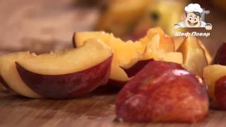 Джем из персиков с лимоном