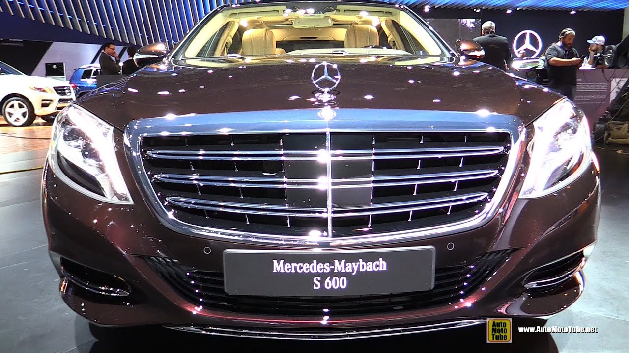 2016 mercedes benz maybach s600 exterior and interior walkaround debut at 2014 la auto show youtube