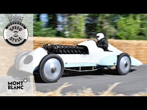 """Buried a: 1926 land speed record holding """"Babs"""""""