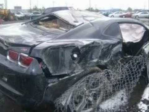 2010 Camaro Wrecks Youtube