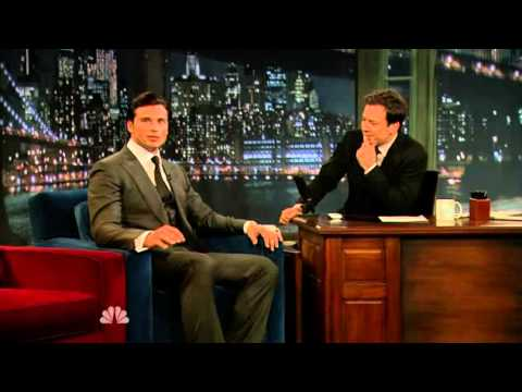 Tom Welling on Late Night with Jimmy Fallon 552011