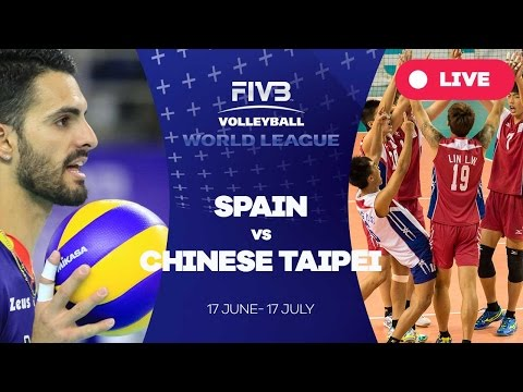 Spain v Chinese Taipei - Group 3: 2016 FIVB Volleyball World League