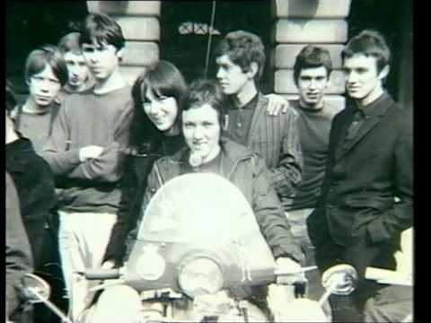 Mods In Nottingham On A Lazy Sunday Afternoon