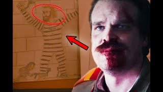 HOPPER IS ALIVE *PROOF* - STRANGER THINGS 3 - THEORY