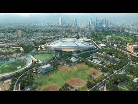 Zaha Hadid Architects Release Video Presentation and Report on New National Stadium in Tokyo