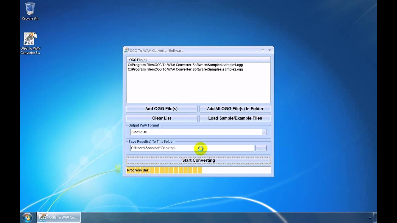 OGG To WAV Converter Software