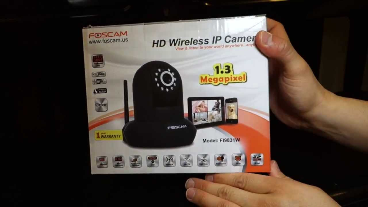 FOSCAM FI9831W IP CAMERA DRIVERS FOR WINDOWS
