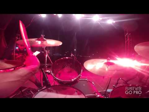 CONVERGE - Axe To Fall Live Drum Cam Ben Koller