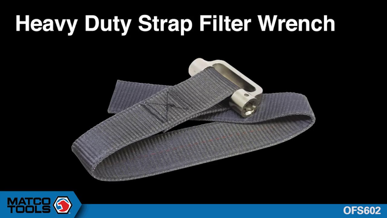 HEAVY-DUTY OIL FILTER STRAP WRENCH- OFS602