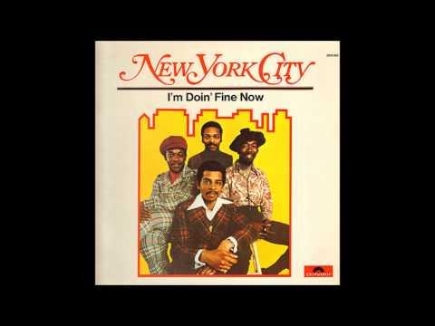 New York City - I'm Doin Fine Now