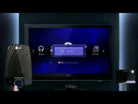 LG XF2 hordozható médialejátszó