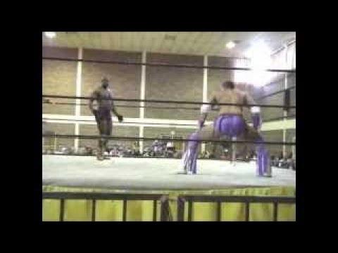 Ananzi and Ryan Cage VS Jason Steele and Joe Dozer APWA (2008)