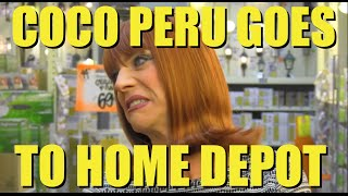 Coco Goes To Home Depot
