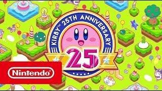 Relembre os 25 anos da franquia Kirby em vídeo comemorativo