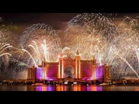 ATLANTIS fireworks 2019 Happy New Year #DUBAI #ATLANTIS