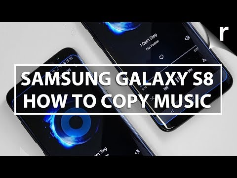 How to copy music to the Galaxy S8/S8 Plus from Mac, PC or iTunes