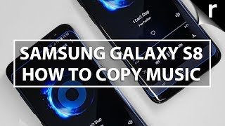 Video How to copy music to the Galaxy S8/S8 Plus from Mac, PC or iTunes download MP3, 3GP, MP4, WEBM, AVI, FLV November 2018