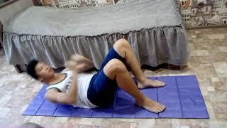 Упражнения для пресса Часть  1