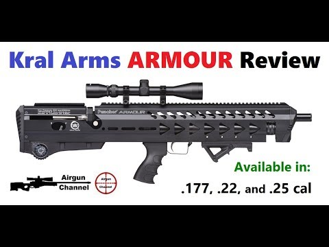 Kral Arms ARMOUR Review (Kral Puncher Armour Bull-Pup PCP Air Rifle)