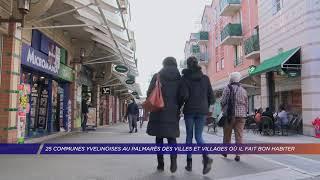 Yvelines | 25 communes yvelinoises au palmarès des villes et villages où il fait bon habiter