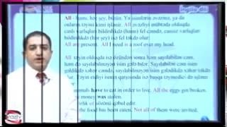 Araz Kursları Ingilis dili   Ders 4(, 2014-06-19T13:14:52.000Z)