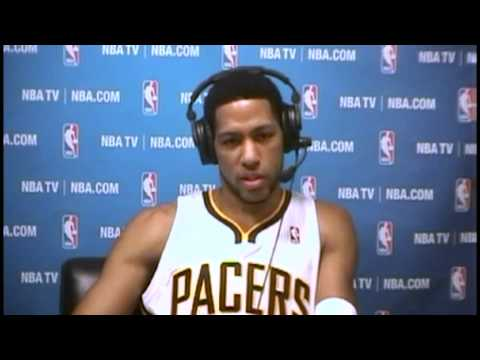 Postgame: Danny Granger | New Orleans Pelicans vs Indiana Pacers | January 4, 2014 | NBA 2013-14
