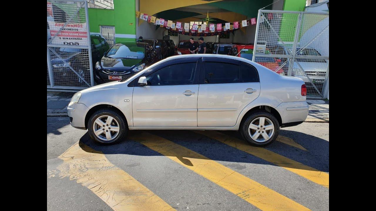 VW/POLO SEDAN 1.6 COMPLETO 2008 TEM SCORE BAIXO LIGA AGORA!!!