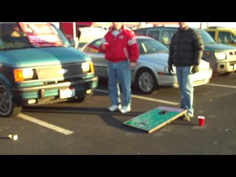 Ohio State Tailgate Party 2008 with Tailgate Toss