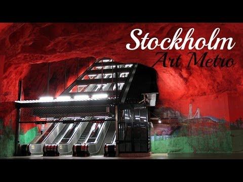 Stockholm Metro - Metro de Estocolmo. Sweden, Suecia.