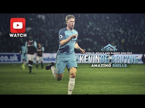 Kevin De Bruyne - Amazing Skills Show (2016-2017)- Skills, Goals and Passes 1080p