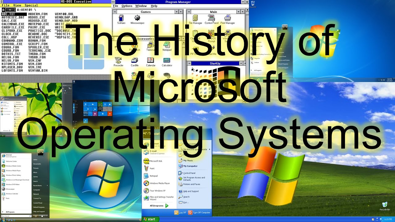 history of microsoft In 1983, microsoft announced the development of windows, a graphical user interface (gui) for its own operating system (ms-dos), which had shipped for ibm pc and compatible computers since 1981.