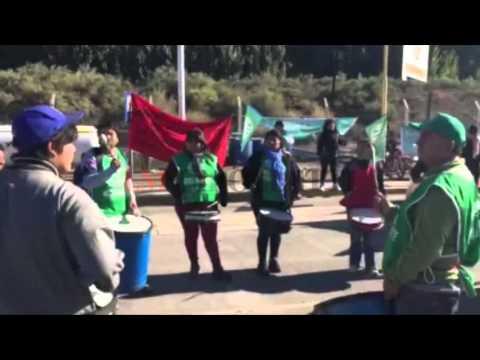 ATE Río Negro protestó en los puentes carreteros por casi tres horas