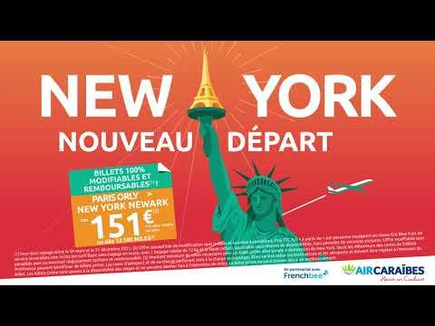 New York dès 151  A/S ou 12 500 miles !