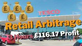 Retail Arbitrage TESCO   £116.17 Profit in 3 Hours   Manchester, UK