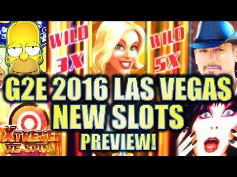 ★G2E 2016★ NEW 2016-2017 SLOT MACHINES SNEAK PEEK PREVIEW!! LAS VEGAS GLOBAL GAMING EXPO PREVIEWS