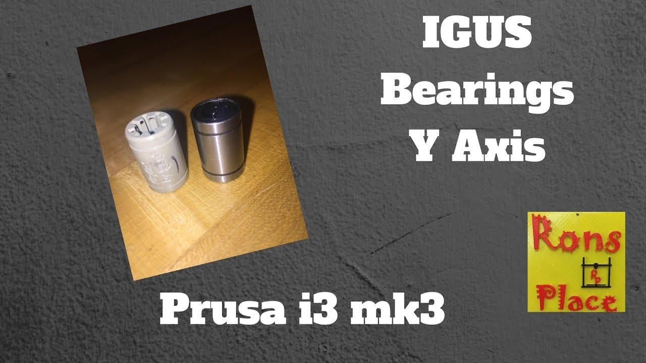 IGUS Bearings - Prusa i3 mk3