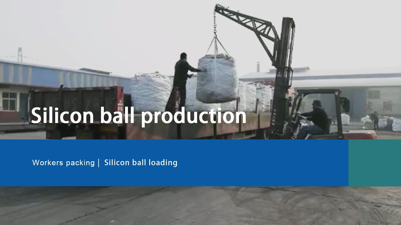 silicon ball:Silicon ball loading and transportation