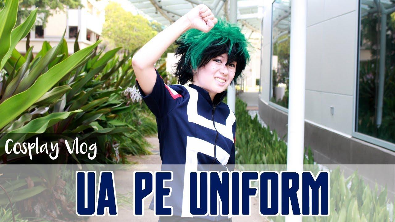 Cosplay Vlog Boku No Hero Academia Gym Uniform Youtube