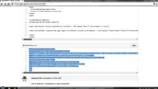 Generar un archivo Excel desde una tabla HTML
