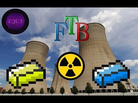 Feed The Beast Monster #8: Nuclear Power!