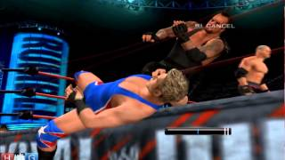 WWE Smack Down vs Raw 2011™ PC gameplay : Undertaker on rampage removes 16 superstars