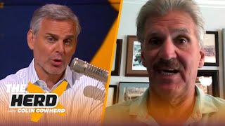 Dave Wannstedt on 49ers' indecisiveness to draft Mac Jones, Cowboys & Kyle Pitts | NFL | THE HERD