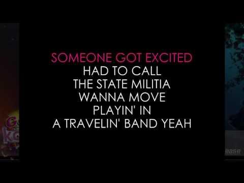 Travelin' Band  - Creedence Clearwater Revival (Lyrics Karaoke) [ goodkaraokesongs.com ]