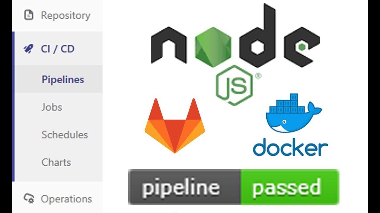CI/CD a NodeJS API with GitLab Runner and Docker-Compose